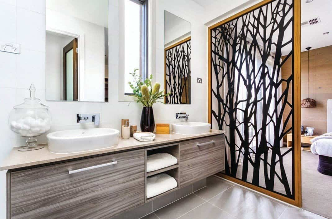 Bathroom decorating ideas 8 easy ways for a makeover for Bathroom motif ideas