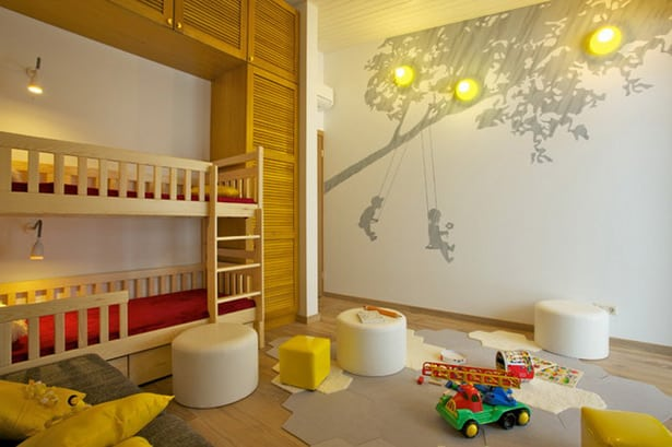 Wall Designs For Toddler Rooms : Kid s room design house interior