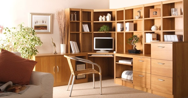 home office decorating ideas home office design ideas 4 house interior. Black Bedroom Furniture Sets. Home Design Ideas