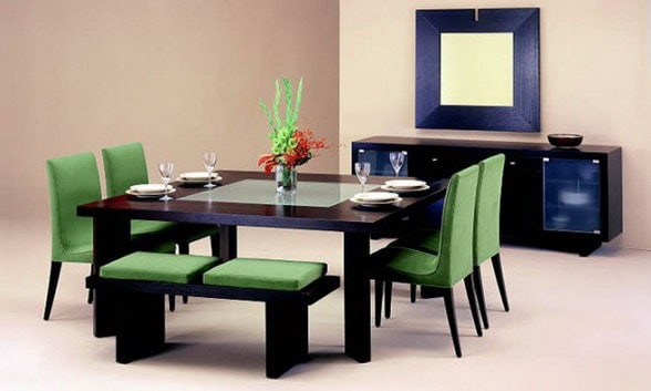 Dining-room-décor-and-dining-room-ideas-2017- Modern-dining-room-13