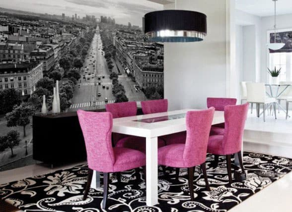 Dining-room-décor-and-dining-room-ideas-2017- Modern-dining-room-2