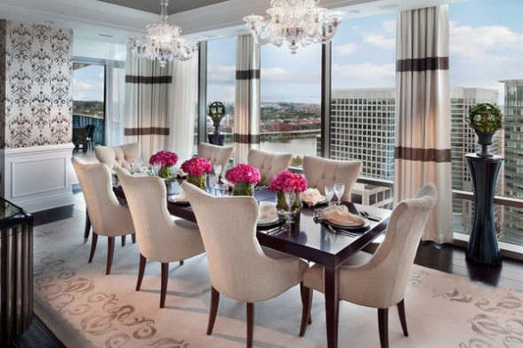 Dining-room-décor-and-dining-room-ideas-2017- Modern-dining-room-4