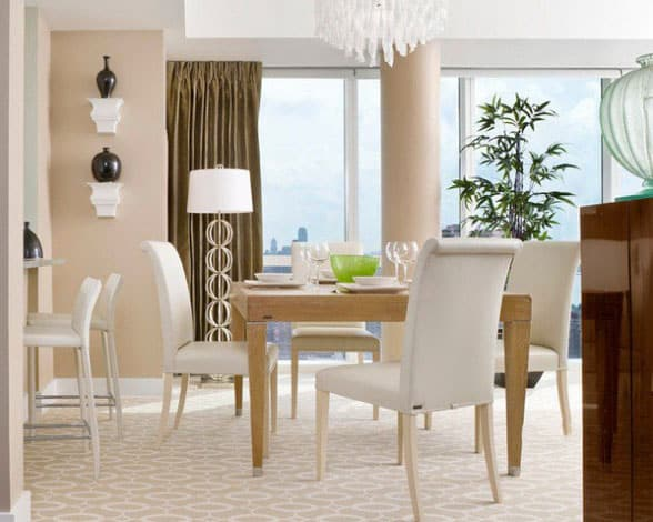 Dining-room-décor-and-dining-room-ideas-2017- Modern-dining-room-5