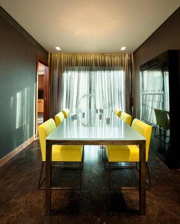 Dining-room-décor-and-dining-room-ideas-2017- Modern-dining-room-6
