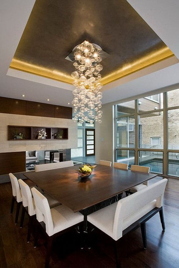 Dining-room-décor-and-dining-room-ideas-2017- Modern-dining-room-7