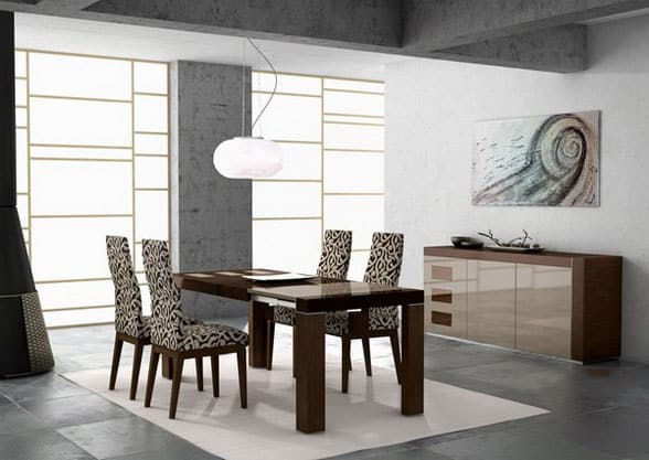Dining-room-décor-and-dining-room-ideas-2017- Modern-dining-room