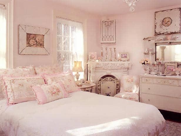 Shabby-chic-bedroom- shabby-chic-home-décor- shabby-chic-bedroom-ideas