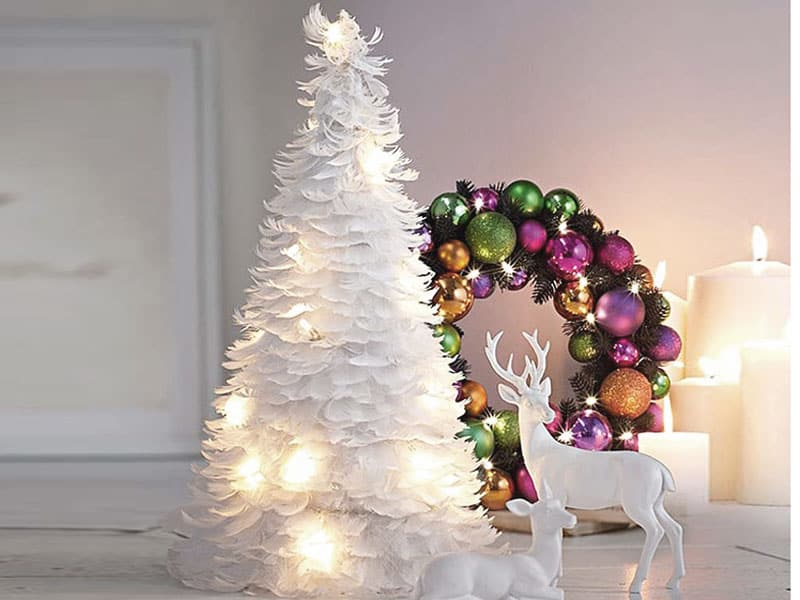 Christmas decoration ideas 2017 house interior for Modern christmas decorations online