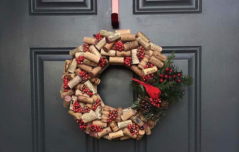 Christmas-decoration-ideas-2017- Christmas-ornaments- xmas-decorations-Modern-Christmas-wreaths-1