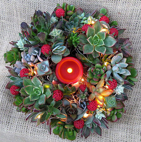 Christmas-decoration-ideas-2017- Christmas-ornaments- xmas-decorations-Modern-Christmas-wreaths-2