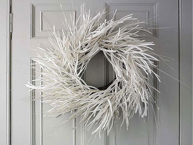 Christmas-decoration-ideas-2017- Christmas-ornaments- xmas-decorations-Modern-Christmas-wreaths-3