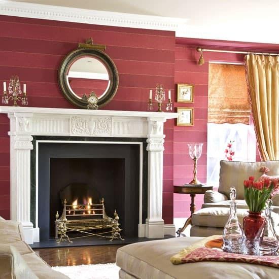 Wallpaper for living room for Living room wallpaper ideas 2016