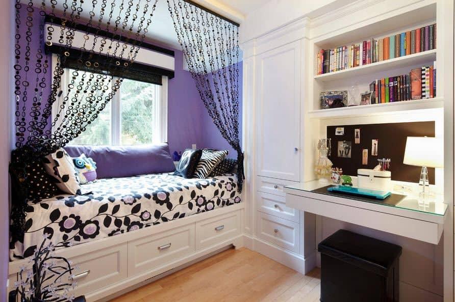 7 Inspiring Kid Room Color Options For Your Little Ones: Teenage Girl Bedroom Ideas (31 Girl Bedroom Photo