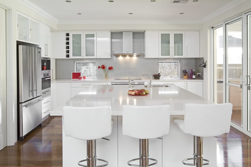 White kitchen ideas house interior for White kitchen designs