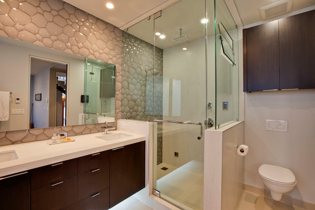 Bathroom Interior Design Tips And Ideas ~ Bathroom decorating ideas high tech