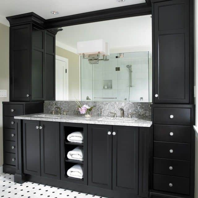 paint bathroom cabinets black bathroom design ideas white bathroom 19841