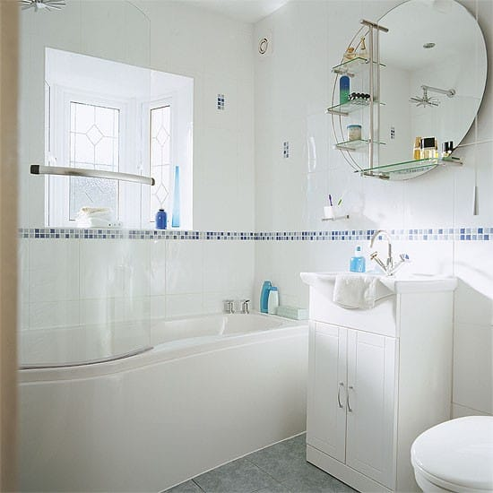 Bathroom design ideas white bathroom Six bathroom design tips