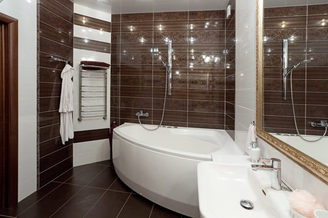 Bathroom Decorating Ideas With Brown : Brown bathroom ideas house interior