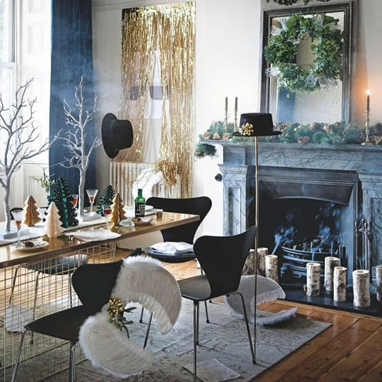 Christmas decoration ideas how originally decorate house Christmas interior decorating ideas