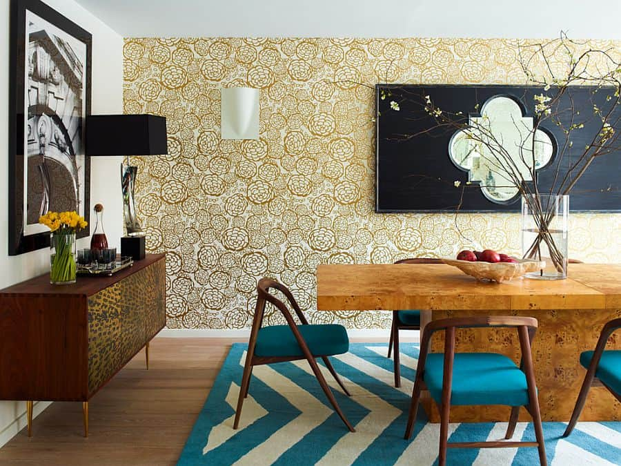 Dining room wall decor house interior for Contemporary wall decor for dining room