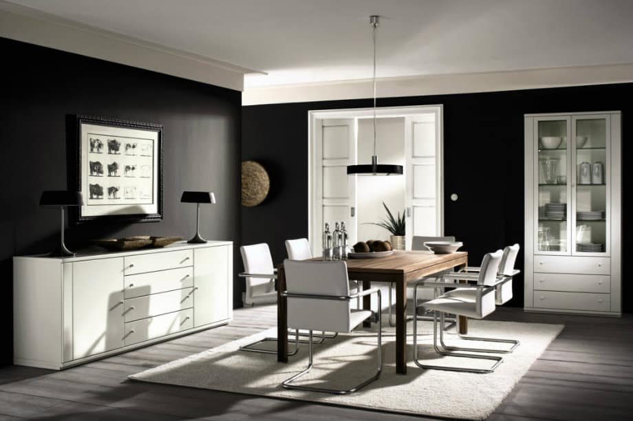 dining room wall decor house interior. Black Bedroom Furniture Sets. Home Design Ideas