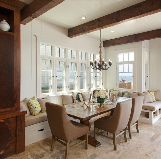 Captivating Beach House Dining Room Home Design