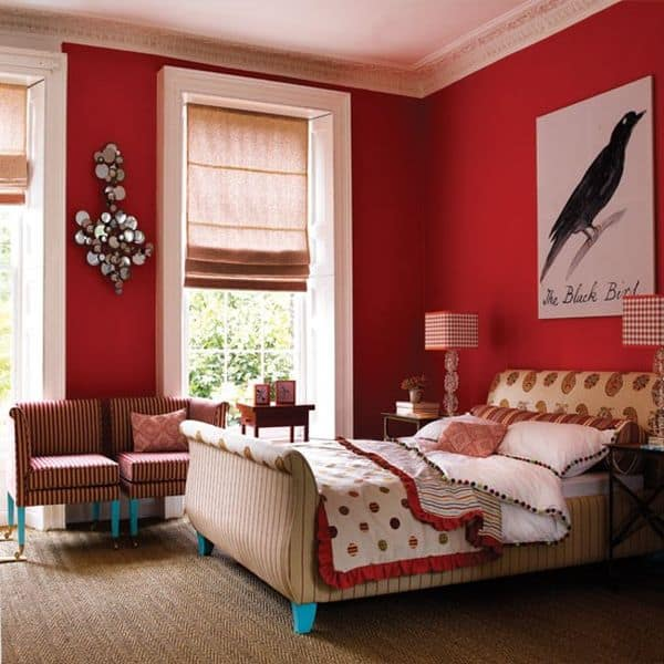 Red Bedroom Decor ideas for bedrooms: red bedroom decor