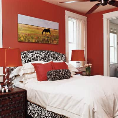Ideas for bedrooms red bedroom decor house interior - Red bedroom decorating ideas ...
