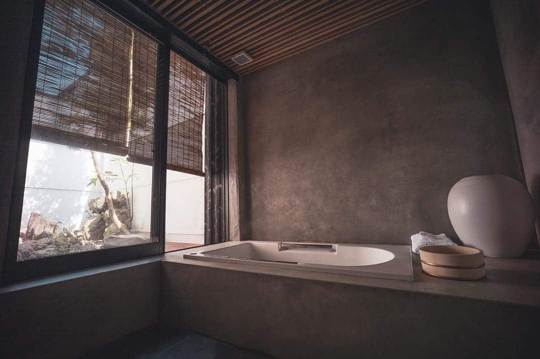 Japanese style bathroom