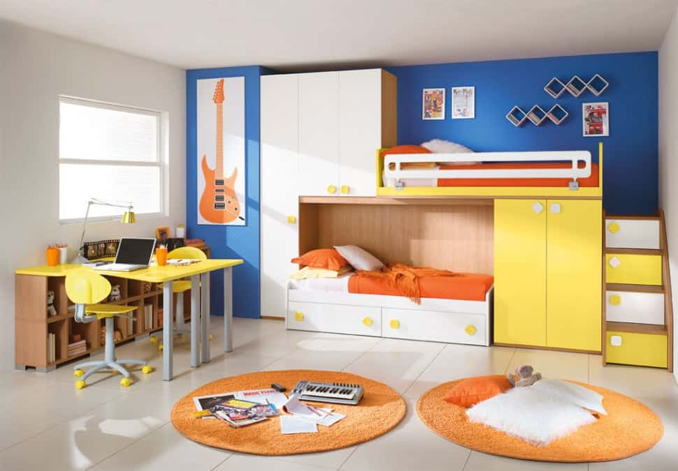 Kids bedroom ideas kids room colors for Interior design for kid bedroom