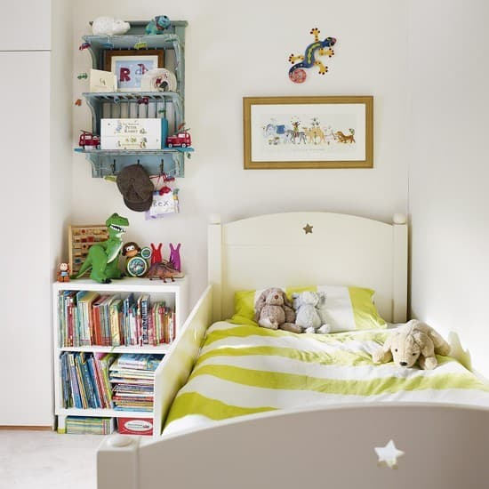 Kids room decor small room for kids for Bedroom inspiration for small rooms