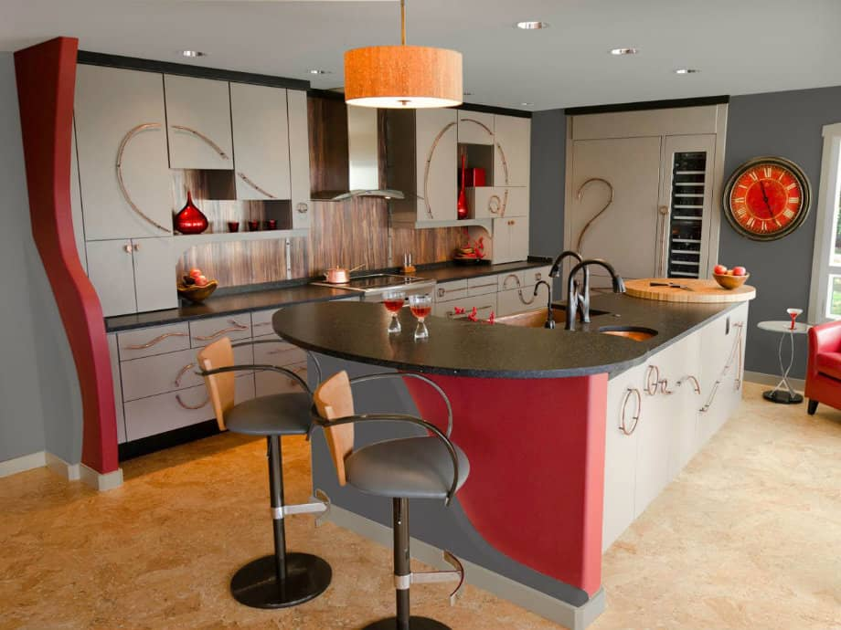 Designer Kitchen Decorating Ideas ~ Kitchen interior design art deco