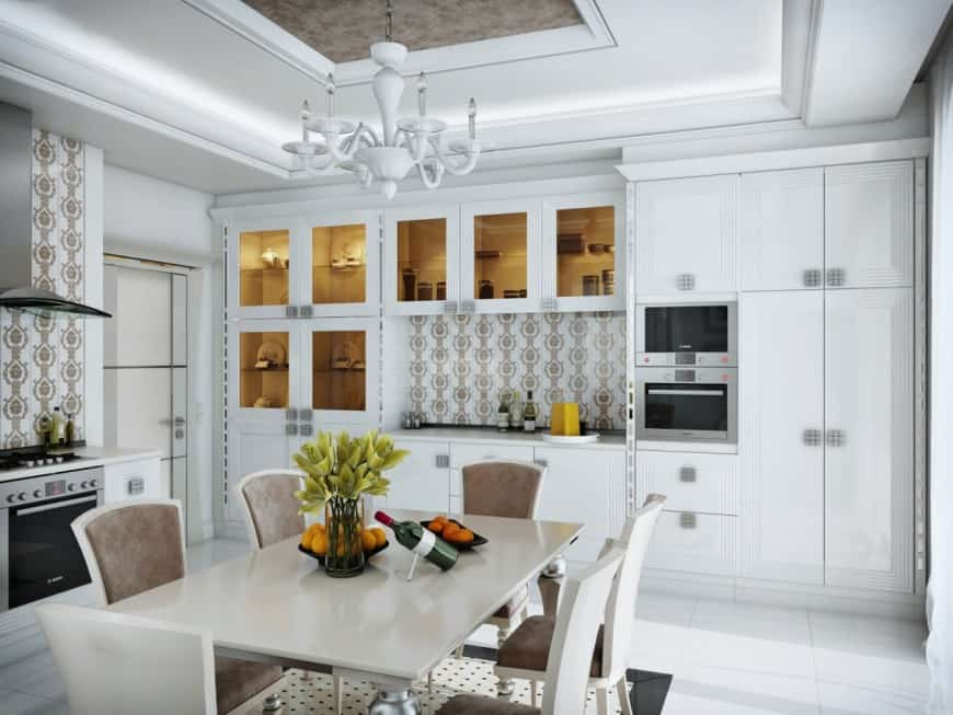 Kitchen interior design art deco kitchen for Photo gallery of interior designs