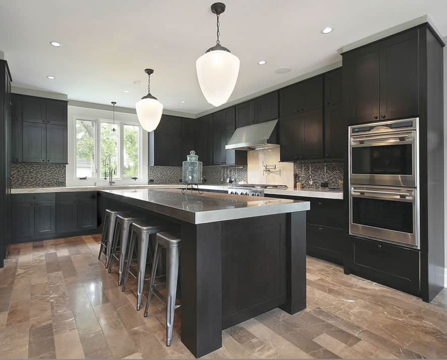 Kitchen Decorating Ideas Black Kitchen