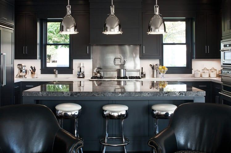 kitchen decorating ideas black kitchen house interior