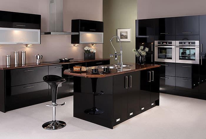 kitchen-decorating-ideas-black-kitchen-contemporary-kitchens-kitchen-interior-design-9