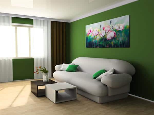 wohnzimmer innenraum gr nes wohnzimmer dekoration ideas. Black Bedroom Furniture Sets. Home Design Ideas