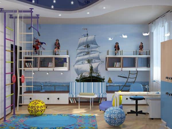 Nautical decor in interior design