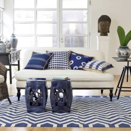 Bedroom Decorating Ideas In Blue And White