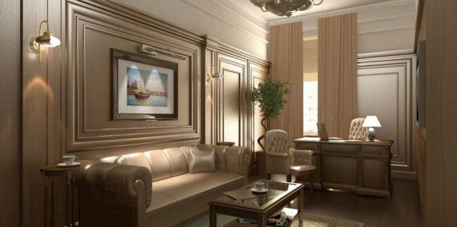 Office Decor Ideas: Classic Office Design