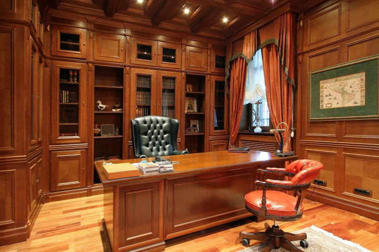 Office interior design english office for Bureau in english