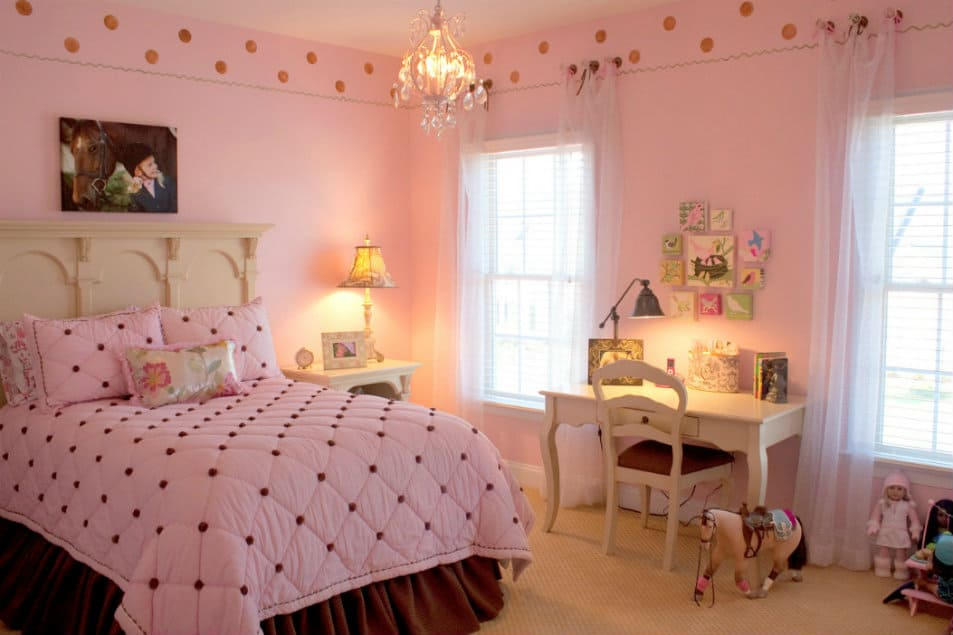 pink bedroom ideas house interior