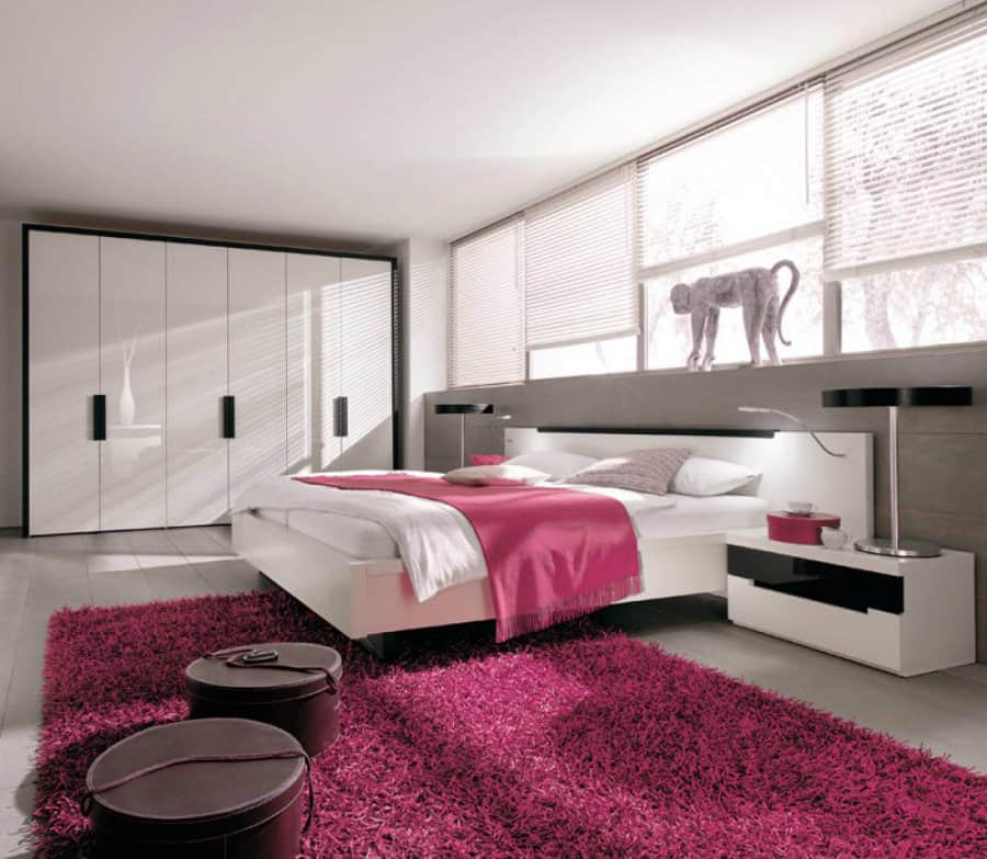 Pink bedroom ideas for Interior design bedroom pink