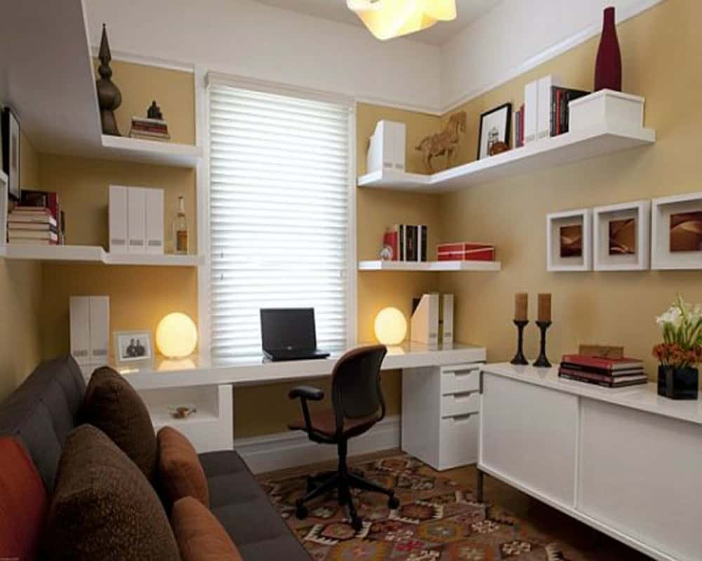 Small home office ideas house interior for Interior designs for offices ideas