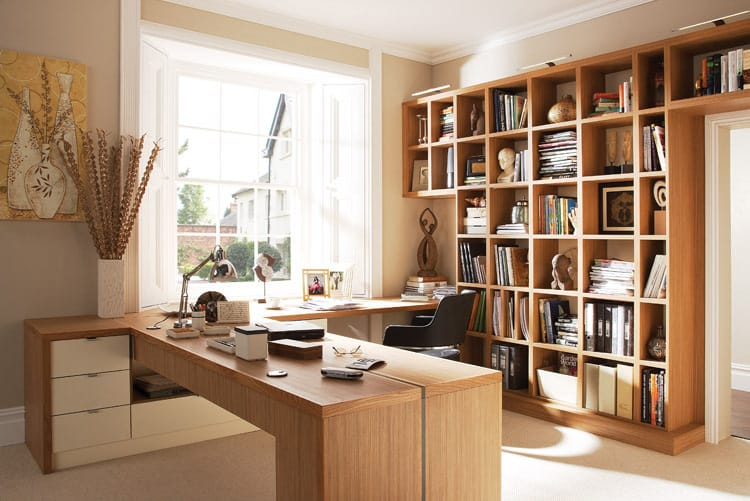 Small home office ideas for Home office interior design ideas
