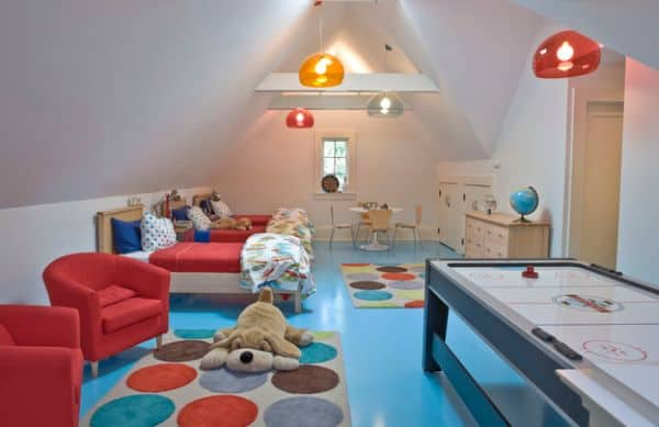 Kids bedroom ideas lighting and beds for kids house for Lighting for kids room