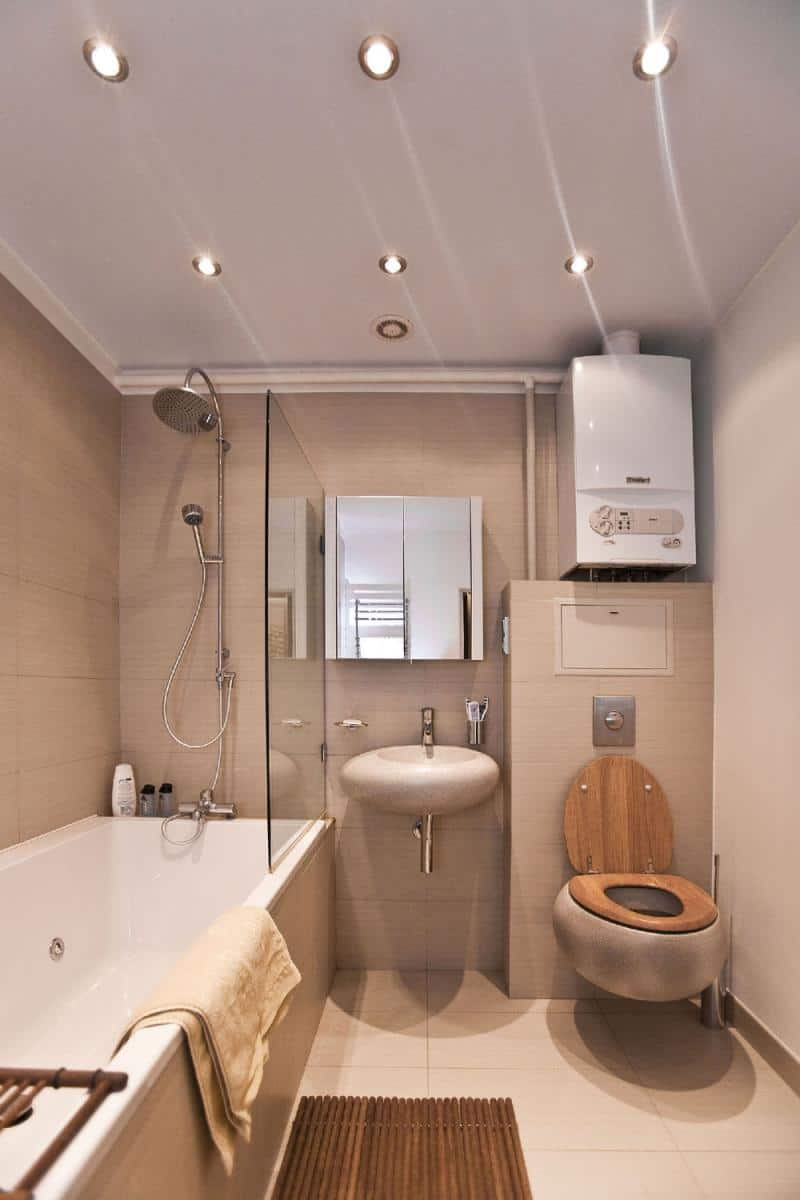Bathroom decor ideas loft bathroom - Decoratie design toilet ...