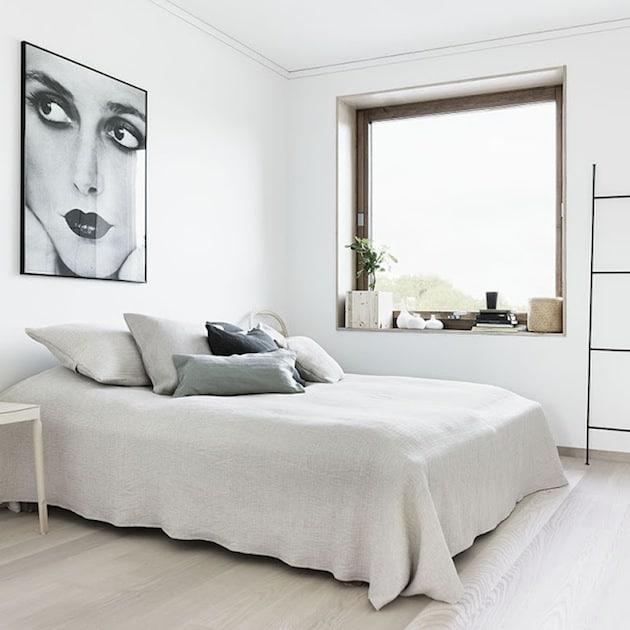 Bedroom Decorating Ideas: Scandinavian Bedroom