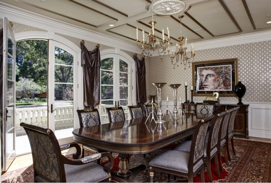 Dining room design ideas gothic dining room house interior for Dining home design