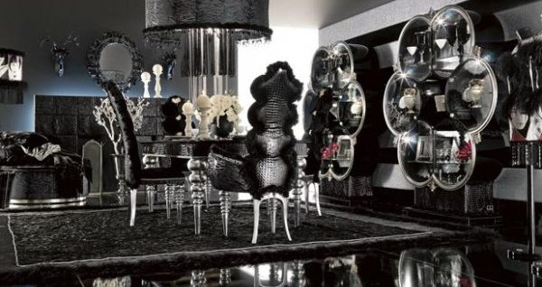 Gothic decor HOUSE INTERIOR – Gothic Dining Room